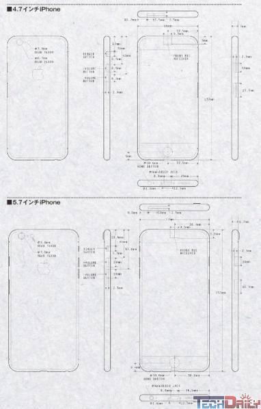两种屏幕尺寸?iphone 6设计图曝光