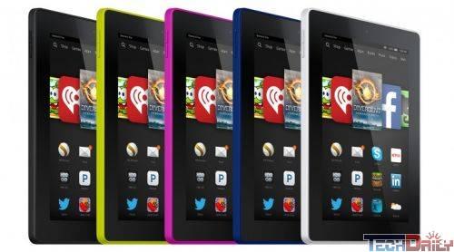 亚马逊发布7款产品:首推6寸平板